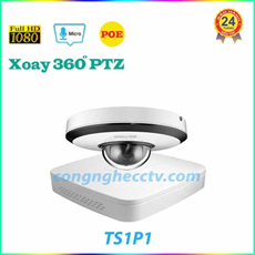 Trọn bộ KIT IP POE 1 camera quan sat 2.0mp DAHUA - TS1P