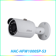 CAMERA HAC-HFW1000SP-S3 1.0 MEGAPIXEL